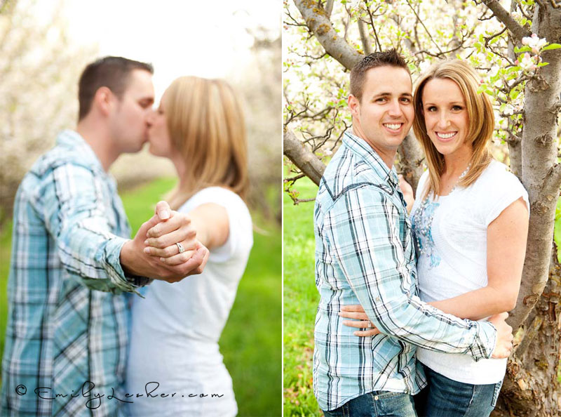 wedding ring, couple kissing