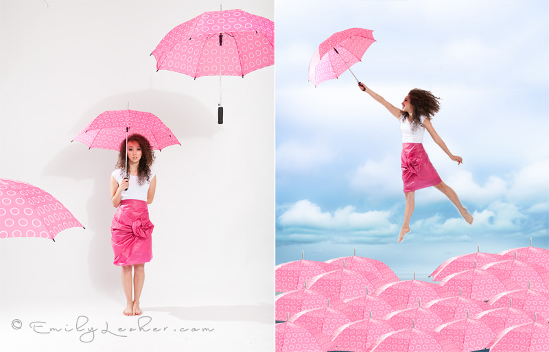 umbrella levitation