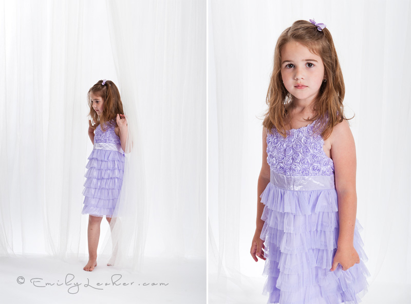 purple Easter dress