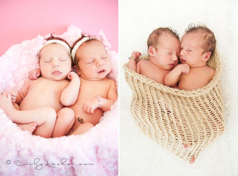 Newborn Identical Twins newborn identic...