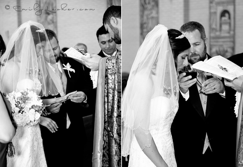 Armenian wedding, exchanging rings, drinking