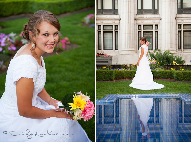 reflection pond, bridals