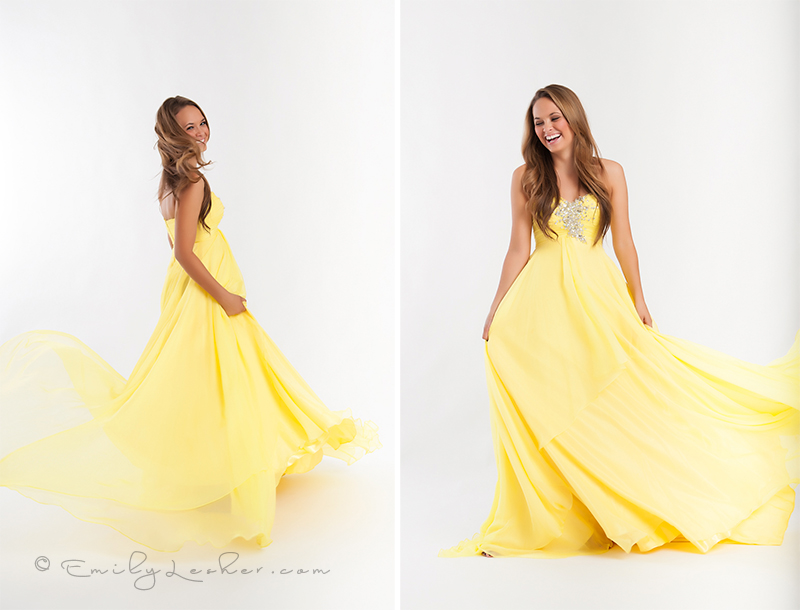 long flowing yellow dress, pageant dress, moving dress, chiffon