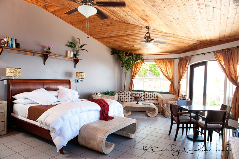 Shearwater Resort Bridal suite, suite room, hotel room, ocean views, Caribbean Photographer