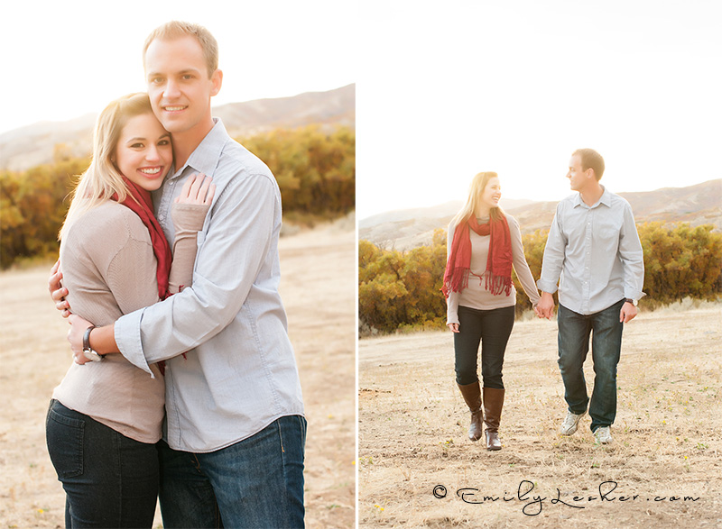 engagement picture, utah mountains, fall foliage, utah fall