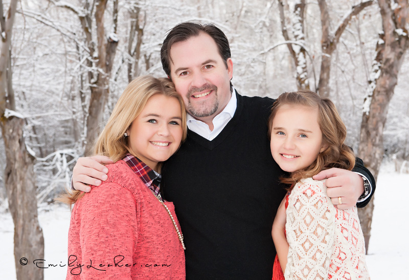 Ty Briggs and girls, winter shoot